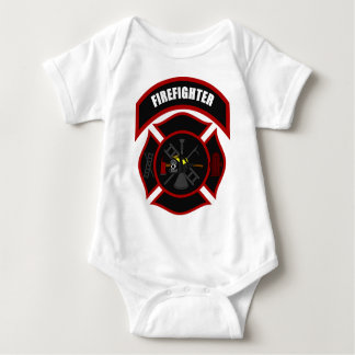 Maltese Cross - Firefighter Baby Bodysuit