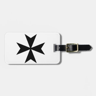 Maltese Cross Luggage Tag