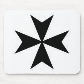 MALTESE CROSS MOUSE MAT