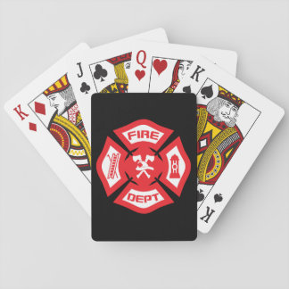 Maltese Cross - playing cards