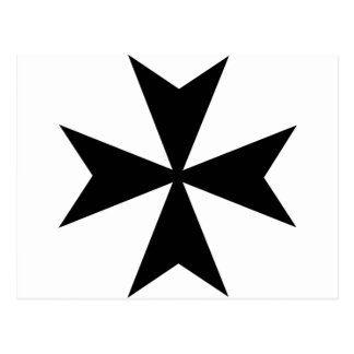 Maltese Cross Postcard