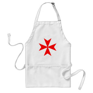 Maltese Cross Standard Apron