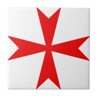 Maltese Cross Variant Small Square Tile