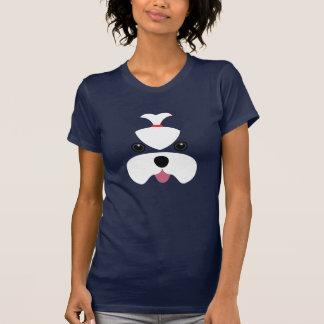 Maltese cutesy face t-shirts