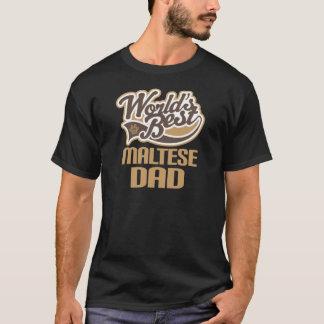 Maltese Dad (Worlds Best) T-Shirt