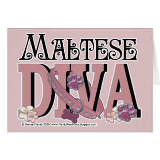 Maltese DIVA Card