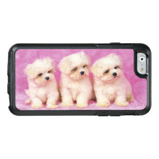 Maltese Dog; is a small breed of white dog OtterBox iPhone 6/6s Case