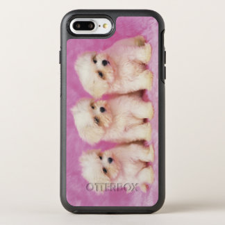 Maltese Dog; is a small breed of white dog OtterBox Symmetry iPhone 8 Plus/7 Plus Case