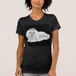 Maltese Dog Petite T-Shirt