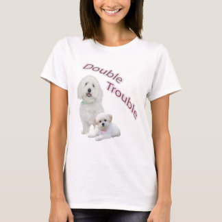Maltese Double Trouble Casual Apparel T-Shirt