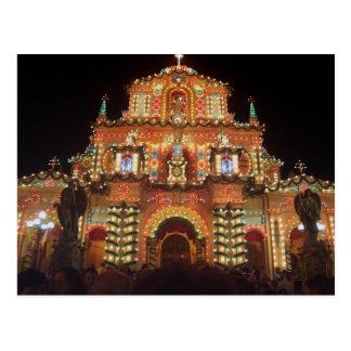 Maltese Feast Postcard