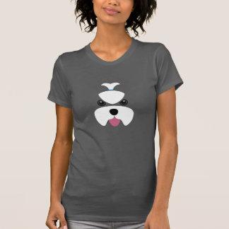 Maltese fierce face t-shirt