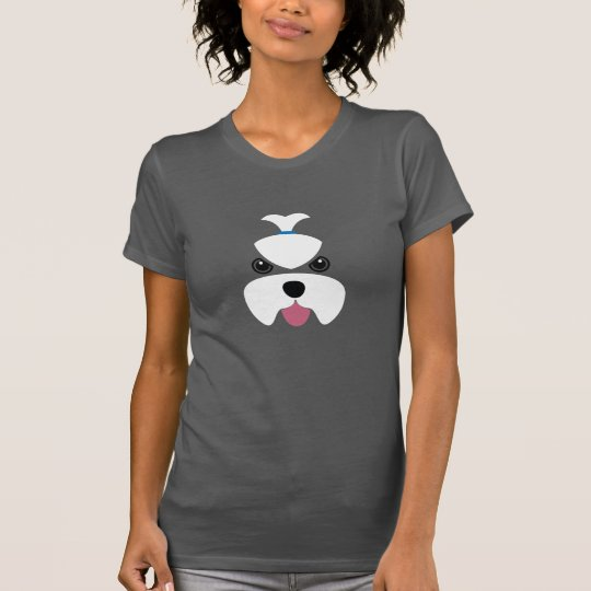 Maltese fierce face T-Shirt