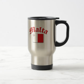Maltese Flag Travel Mug
