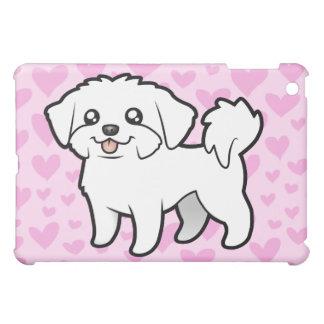 Maltese Love (puppy cut) (add your own pern) iPad Mini Case