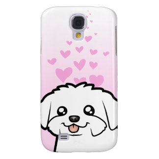 Maltese Love (puppy cut) Galaxy S4 Case