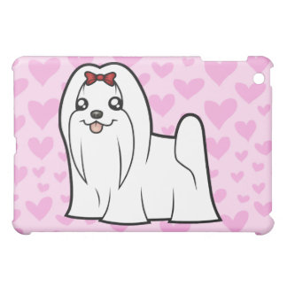 Maltese Love (show cut) (add your own pern) Case For The iPad Mini