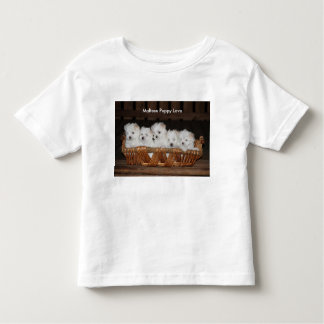 "Maltese Puppies, ""Maltese Puppy Love"",  Dog Toddler T-Shirt"