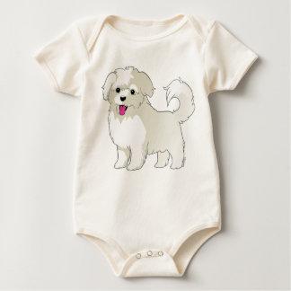 Maltese Puppy Baby Bodysuit