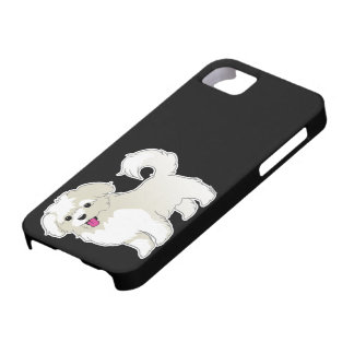 Maltese Puppy iPhone 5 Covers