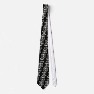 Maltese Skull & Crossbones Tie