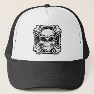 Maltese Skull & Crossbones Trucker Hat