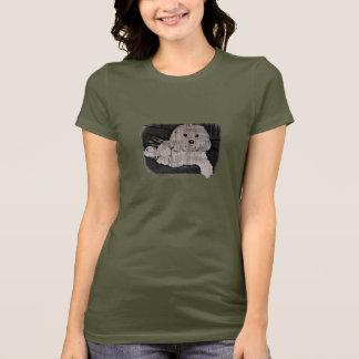 Maltese Stencil T-Shirt