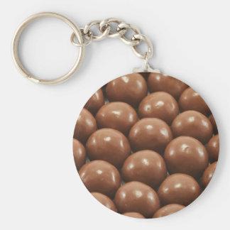 Maltesers Basic Round Button Key Ring
