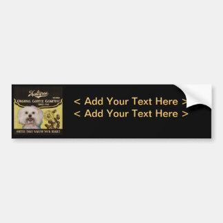Maltipoo Brand – Organic Coffee Company Bumper Sticker