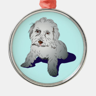 Maltipoo Cute Puppy Christmas Ornament