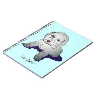 Maltipoo Cute Puppy Notebook