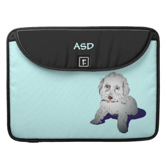 Maltipoo Cute Puppy Personalized Sleeve For MacBook Pro