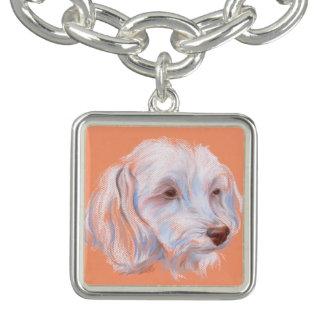 Maltipoo Dog Pastel Art
