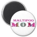 MaltipooMom Refrigerator Magnets