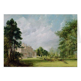 Malvern Hall, Warwickshire, 1821 Card