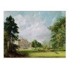 Malvern Hall, Warwickshire, 1821 Postcard