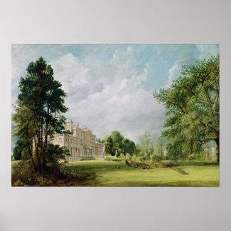 Malvern Hall, Warwickshire, 1821 Poster