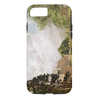 Malvern Hall, Warwickshire, c.1820-21 (oil on canv iPhone 7 Case