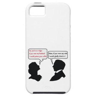 Mam and Sir joke iPhone 5 Covers