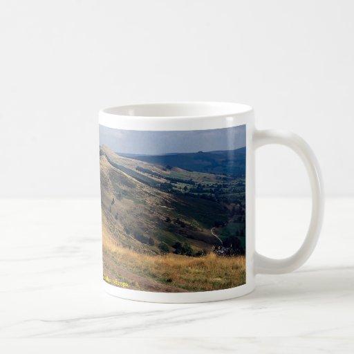 Mam Tor and Loose Hill Ridge, Derbyshire Europe Coffee Mugs
