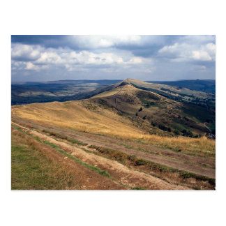 Mam Tor and Loose Hill Ridge, Derbyshire Europe Postcard