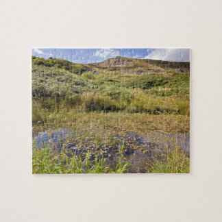 Mam Tor in the Peak District souvenir photo Jigsaw Puzzle