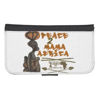 Mama Africa Samsung Galaxy S4 Wallet Case