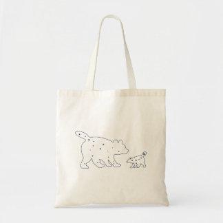 Mama and Baby Ursa Minor/Major Constellation Bag Canvas Bag