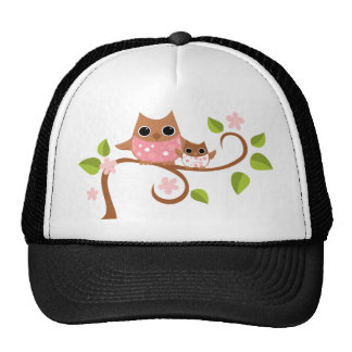 Mama and Owls Cap