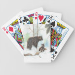 Mama Bear and Baby Poker Cards