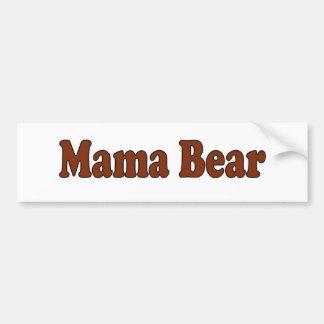 Mama Bear Bumper Stickers