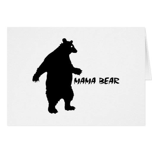 Mama Bear Greeting Cards