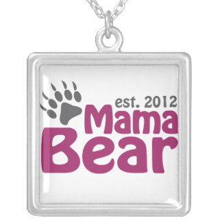 Mama Bear Claw 2012 Silver Plated Necklace