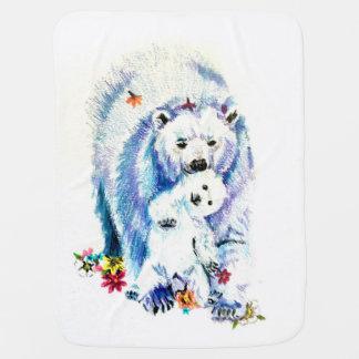 Mama Bear Lovin Buggy Blanket